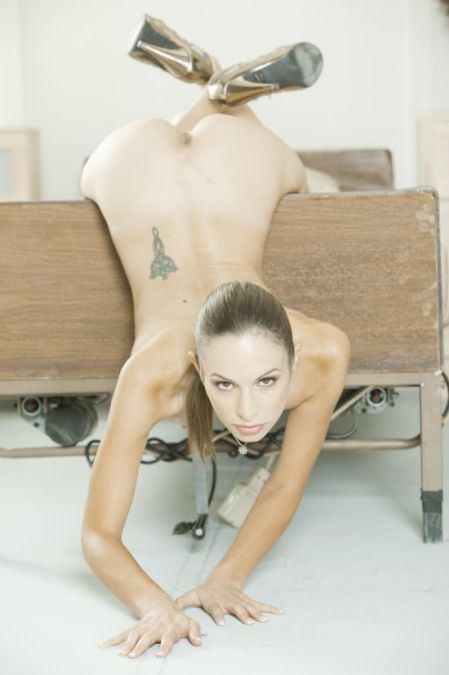 Amber Rayne from The Human Sexipede